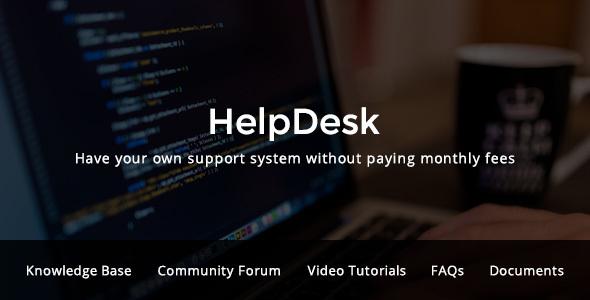 HelpDesk - WordPress Support Center Theme