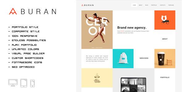 BURAN - Smart Portfolio and Business Theme