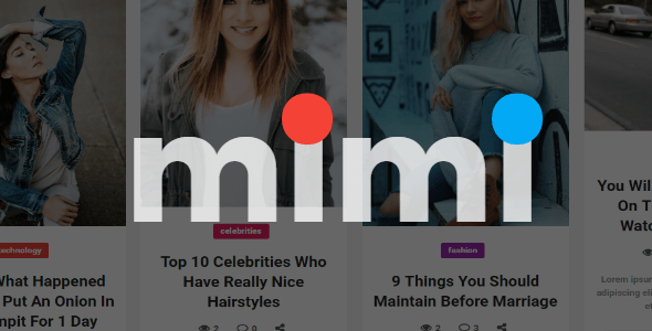 Mimi   Viral Blog Magazine with Frontend Submission