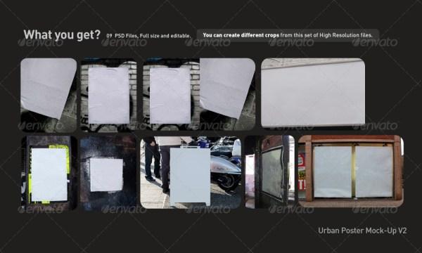 Urban Poster Mock-Up v2