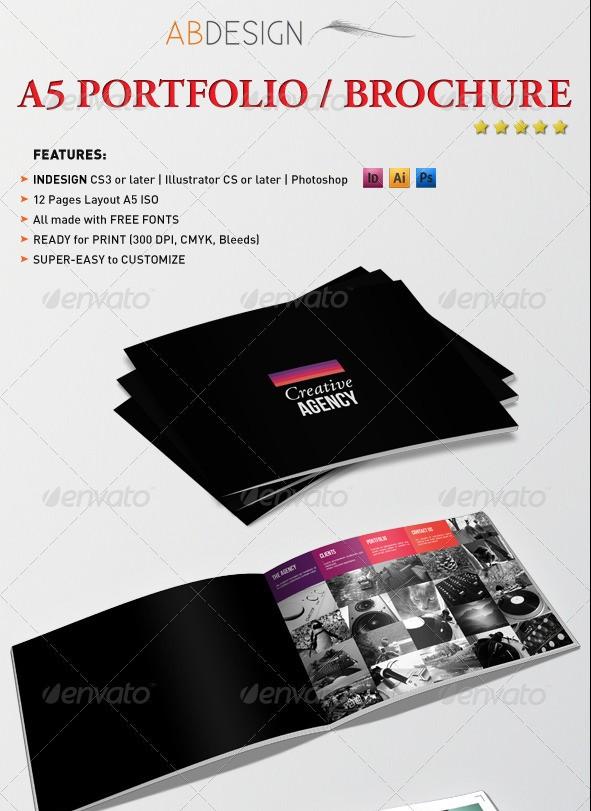A5 Portfolio Brochure