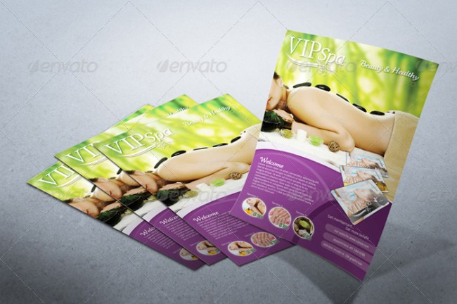 Professional Photorealistic Flyer Mockup