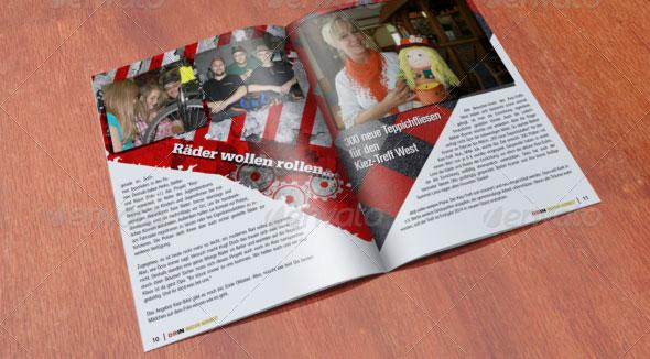 16 Page Brochure Mockup