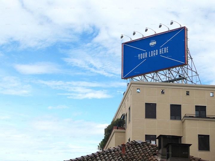 cool premium outdoor advertising billboard mockups psd for download