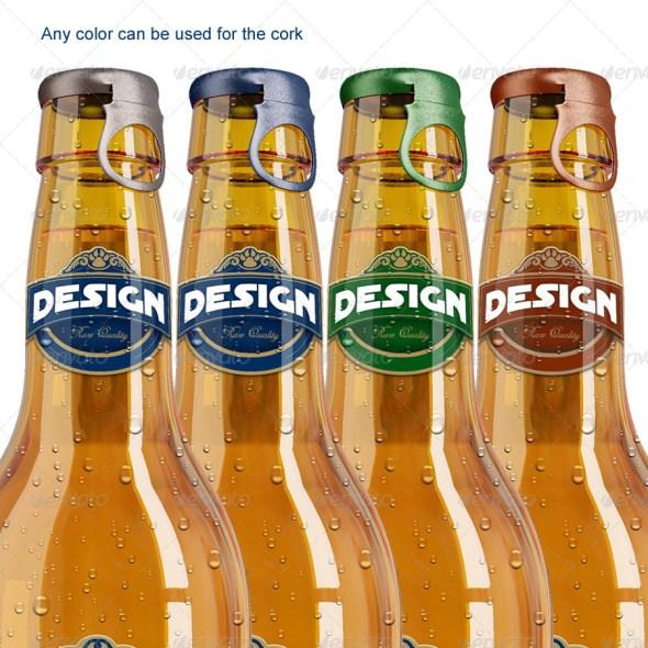 Bottle Beer Mockup
