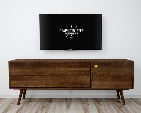 Free Sony TV Mockup