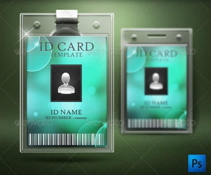ID Card Mockup