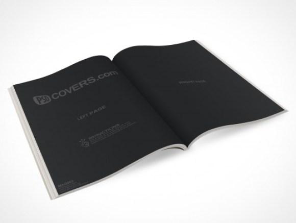 Magazine PSD Mockup Template
