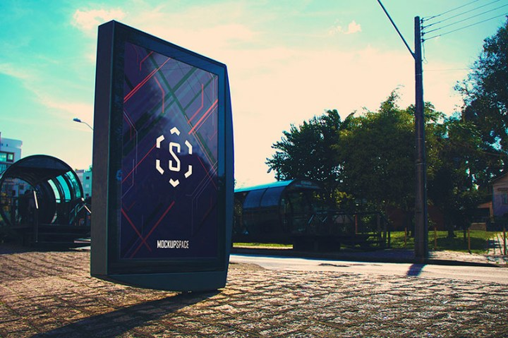 beautiful premium outdoor advertising billboard psd mockups