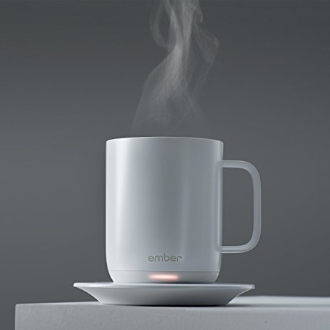 Keep your coffee hot at the office with the Ember Mug