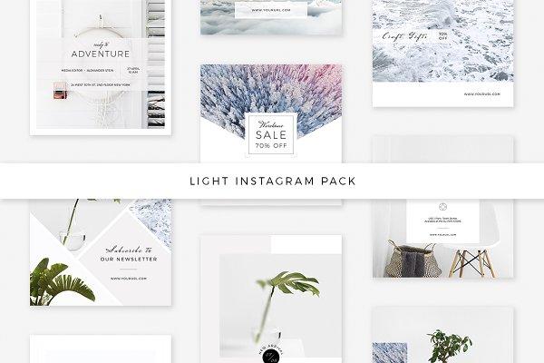 Light Instagram Pack