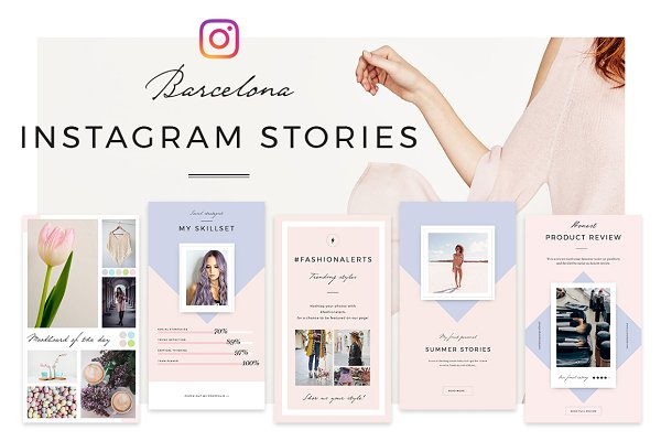 Barcelona Instagram Stories