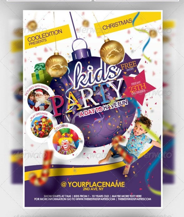 Best Kids Party Flyer