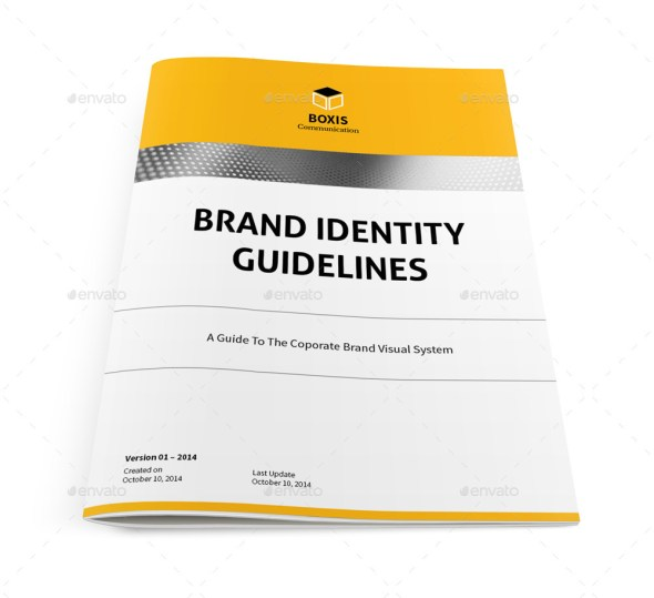 Brand Identity Guidelines Template