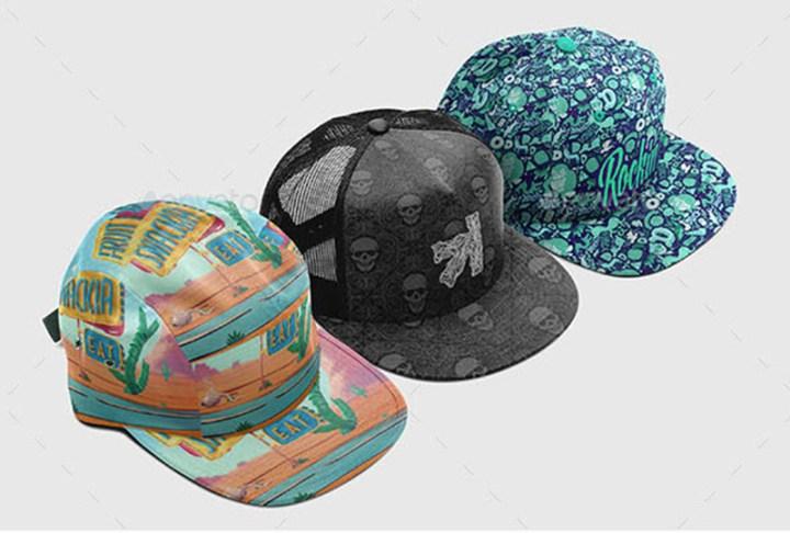 premium hat mockup template