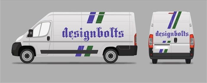 Free Van Branding Mockup