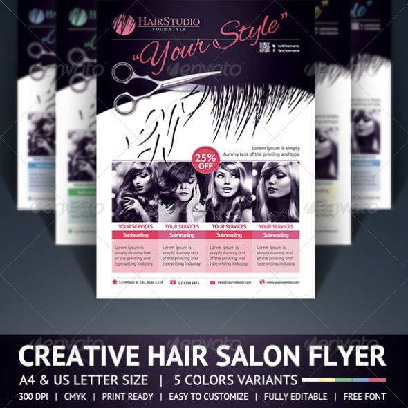 Hair Salon Flyer