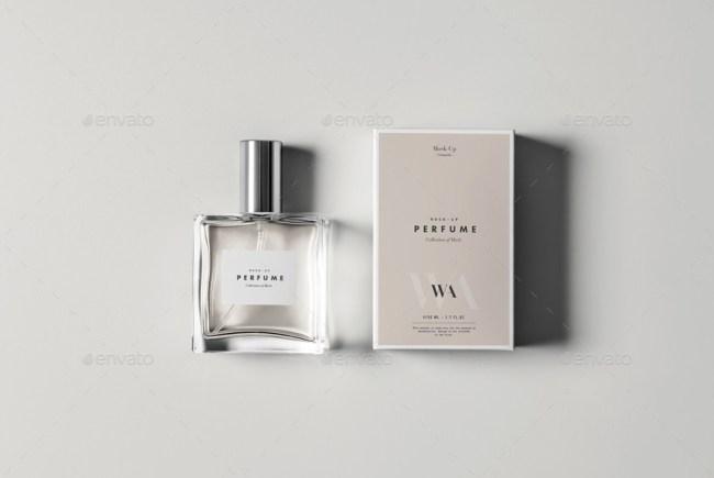 Perfume Mockup