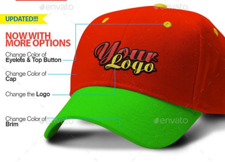 premium cap mockup