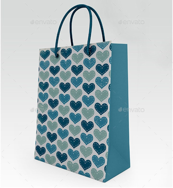 amazing psd shopping bag mockup