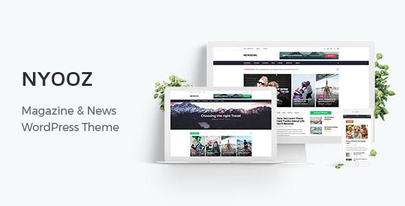 NYOOZ - Magazine WordPress Theme