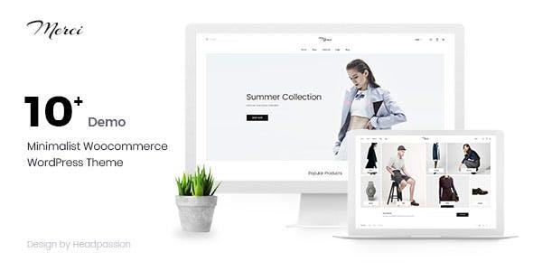 Merci - Minimalist Woocommerce WordPress Theme