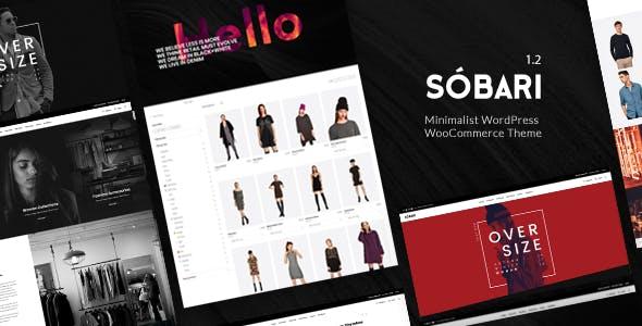 Sobari – Minimalist WordPress WooCommerce Theme