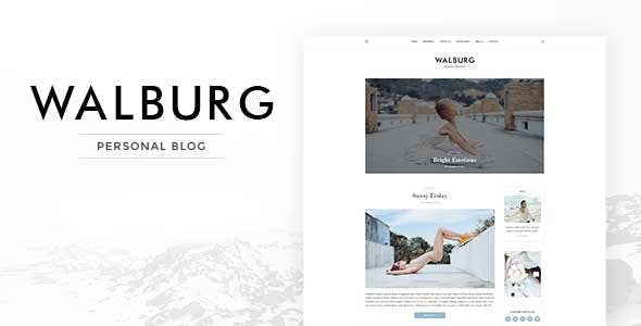 Walburg | WordPress Personal Blog Theme
