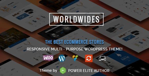 WorldWides - Multipurpose WooCommerce Theme