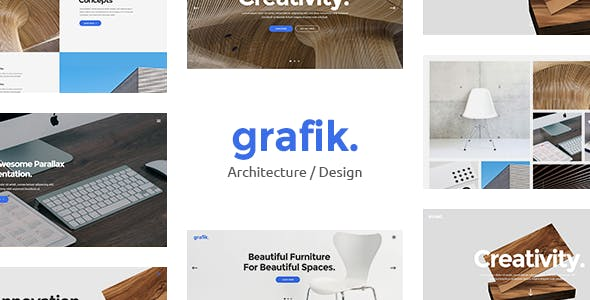 Grafik - Portfolio, Design and Architecture Theme