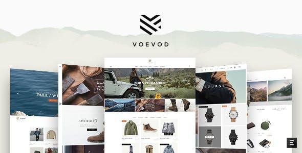 Voevod - A Bespoke WooCommerce Theme