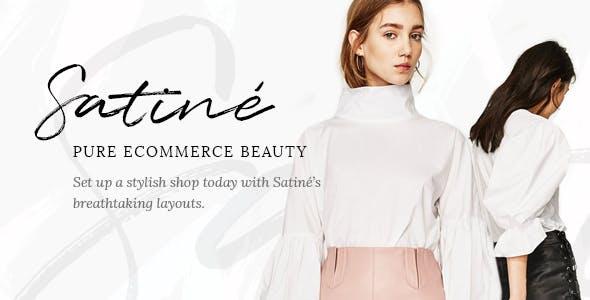 Satiné - An Elegant Multi-Concept Shop Theme