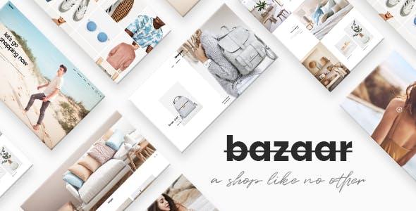 Bazaar - A Modern, Sharp eCommerce Theme