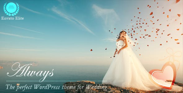 Always - Responsive WordPress Wedding Theme