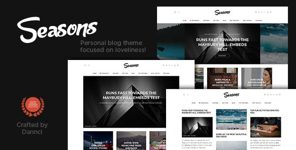 Seasons - A Multi-Concept Blog Theme