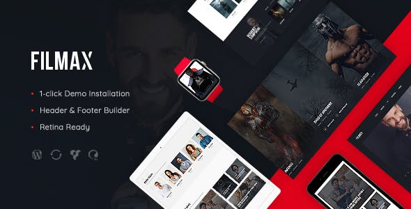 Filmax | Movie Magazine WP Theme