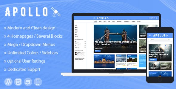 Apollo - WordPress News and Magazine Theme