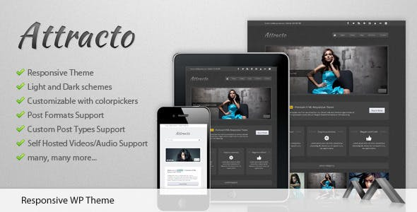 Attracto WP - Responsive Theme