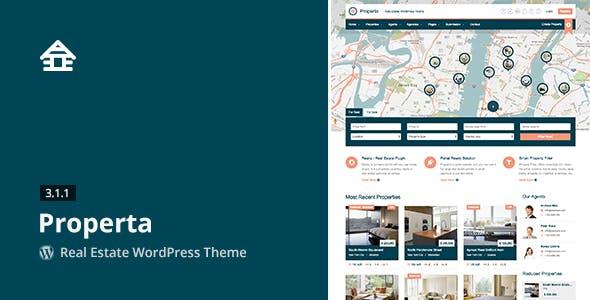 Properta - Real Estate WordPress Theme