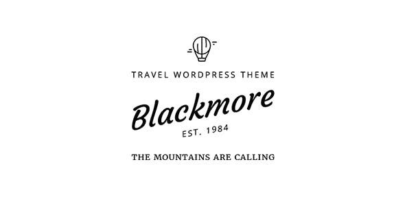 Blackmore - Responsive WordPress Travel Blog / Magazine Theme