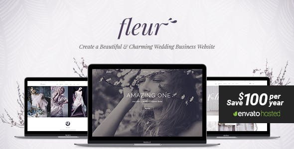 Fleur - A Theme for Weddings, Celebrations, and Wedding Businesses