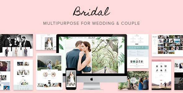 Bridal - Wedding WordPress Theme