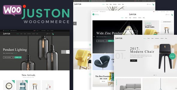 Juston - WooCommerce Responsive Furniture Theme