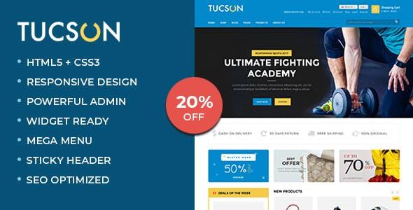 Tucson - Sports Store WooCommerce WordPress Theme