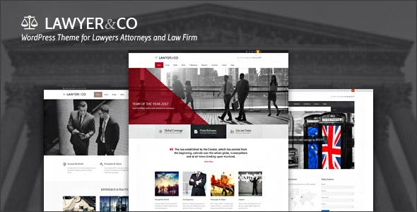 Lawyer | WordPress Theme for Lawyers, Attorneys and Legal Firms