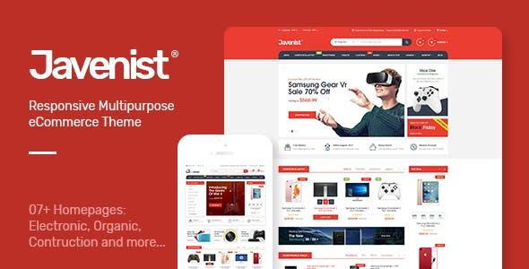 Javenist - Multipurpose eCommerce WordPress Theme