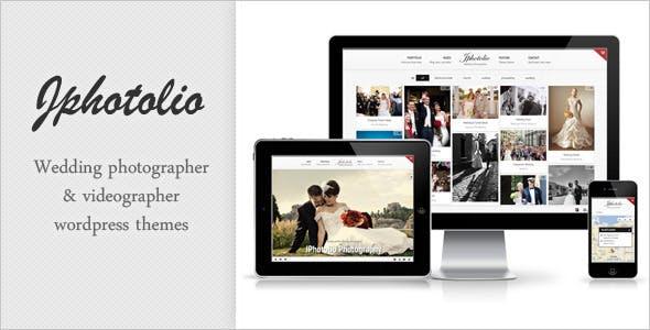 JPhotolio: Responsive Wedding Photography WP Theme
