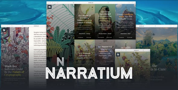 Narratium - Simplicity for authors