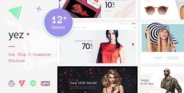 Yez - Multipurpose WooCommerce WordPress Theme