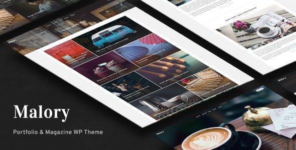 Malory - Photography & Magazine WordPress Theme